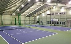 テニスポート波崎インドアテニススクール テニスコートイメージ